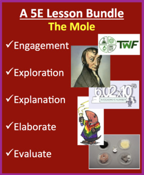 The Mole - Complete 5E Lesson Bundle