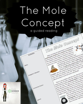 The Mole Concept Guided Reading