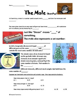 The Mole Notes Packet