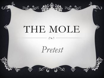 The Mole Unit Pretest