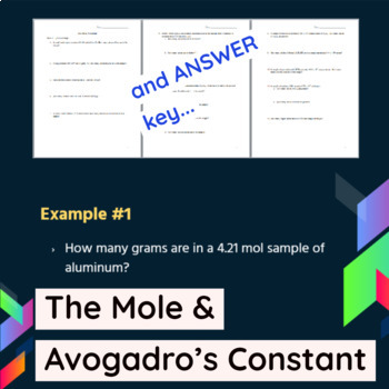Avogadros Worksheets & Teaching Resources | Teachers Pay