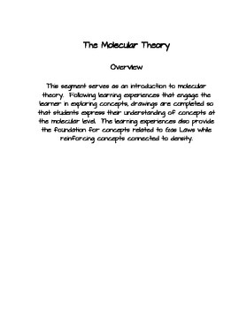 The Molecular Theory