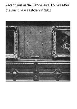 The Mona Lisa Handout by Steven's Social Studies | TpT