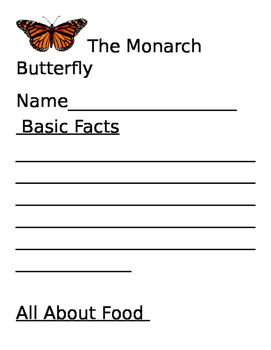 The Monarch Butterfly Report