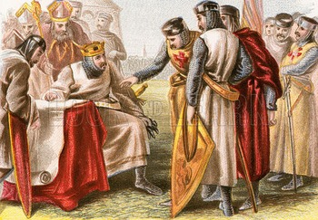 The Monarchs of England / the Magna Carta Powerpoint