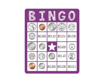 The Money Matching Bingo Game
