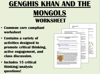 genghis khan and the mongol empire global world history common core. Black Bedroom Furniture Sets. Home Design Ideas