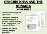 Genghis Khan and the Mongol Empire worksheet