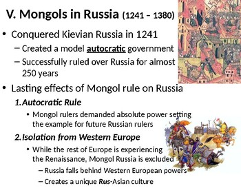 The Mongol Empires