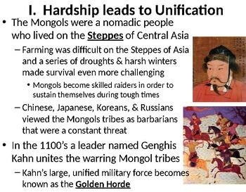 LESSON BUNDLE:  The Mongol Empires