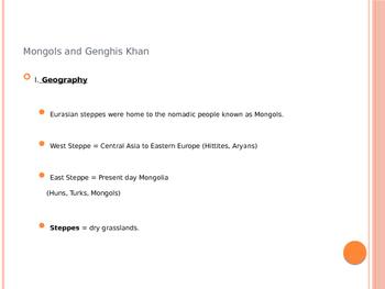The Mongols Under Kublai Khan; Marco Polo