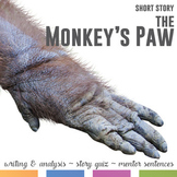 The Monkey' Paw by W. W. Jacobs: Mentor Sentences, Quiz, and Writing Activities