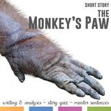 The Monkey's Paw by W. W. Jacobs: Mentor Sentences, Quiz,