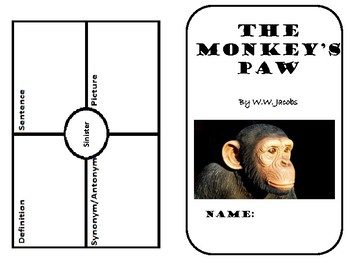 The Monkey's Paw Analysis Booklet
