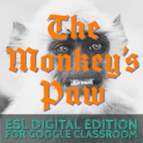 The Monkey's Paw - Beginner ESL Halloween Text - Remote Le