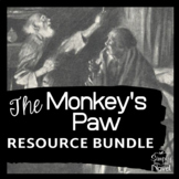 Monkey's Paw Common Core Assessment Practice Questions, Activity, Lessons