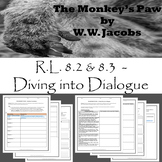 The Monkey's Paw - Close Reading/Diving into Dialogue