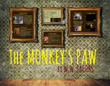 The Monkey's Paw - Reading Guide + Plot Chart