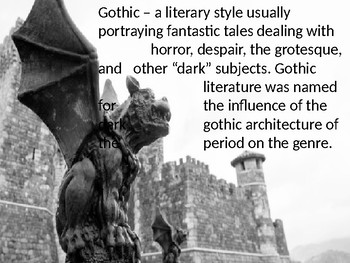 the monkey's paw and gothic literaturerachel stephenson | tpt, Powerpoint templates
