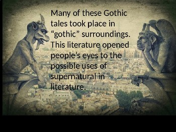 The Monkey's Paw and Gothic Literature