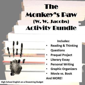 The Monkey's Paw Activity Bundle (W.W. Jacobs), Word