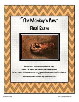 The Monkey's Paw Final Exam Test