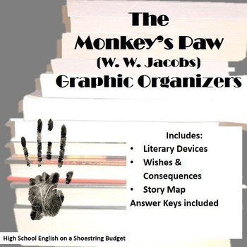 The Monkey's Paw Graphic Organizers (W.W. Jacobs)