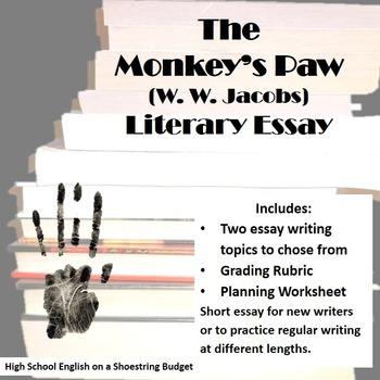 The Monkey's Paw Literary Essay (W.W. Jacobs)