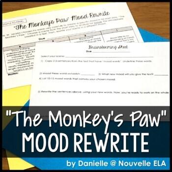 The Monkey's Paw Mood Rewrite - Creative Writing