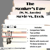 The Monkey's Paw Movie vs. Books Activity (W.W. Jacobs)