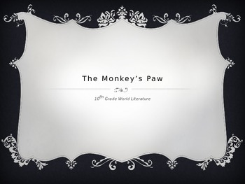 The Monkey's Paw PPT