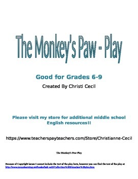 The Monkey's Paw - Play Questions