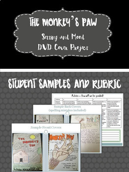 """The Monkey's Paw"" Setting and Mood Project-Common Core Aligned!"