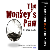 The Monkey's Paw: 24 Pages of Common Core Aligned Activities & Printables