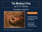 """MONKEY'S PAW"" by W.W. Jacobs: Annotation Organizer"