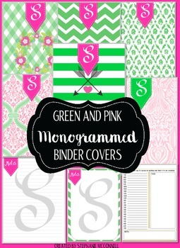The Monogrammed Simplified Planner