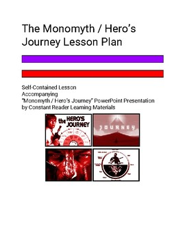 The Monomyth / Hero's Journey Lesson Plan (PPT and PDF Printable Plan)