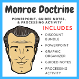 The Monroe Doctrine 1823 - Overview & Processing Activity