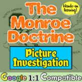 Monroe Doctrine: Students investigate & make inferences on Monroe Doctrine!