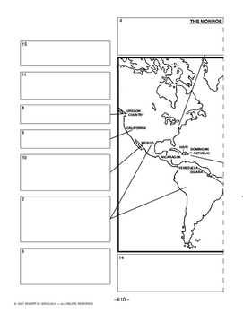 The Monroe Doctrine AMERICAN HISTORY LESSON 61 of 150 Fun Timeline Activity+Quiz