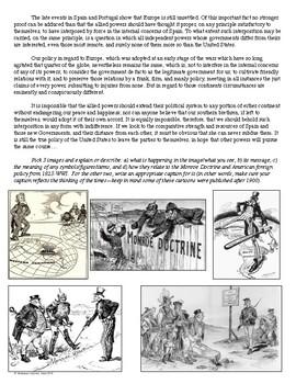 The Monroe Doctrine Primary Source and Image Analysis