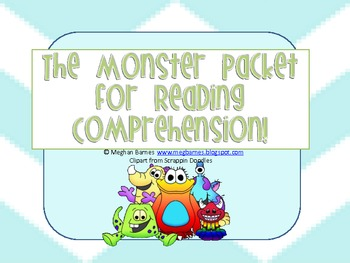 The Monster Comprehension Packet