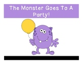 The Monster Goes To A Party Errorless Adapted Book
