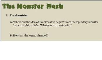 The Monster Mash: A Roaring Research Project