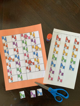 The Monster Match:  Capital and Lowercase Letter Matching