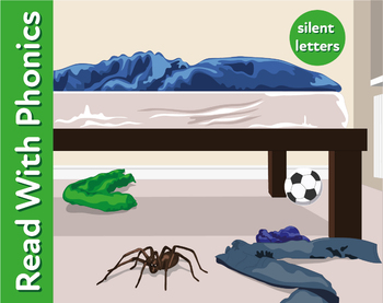 The Monster Near The Bed: Learn Silent Letters (as in ghos