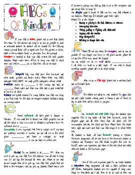 The Monster Take Home Binder-English