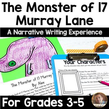 Halloween Writing Activity: A Narrative Writing Project for Grades 3-5