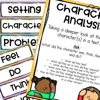 The Monster's Monster Guided Reading Activities Character Analysis