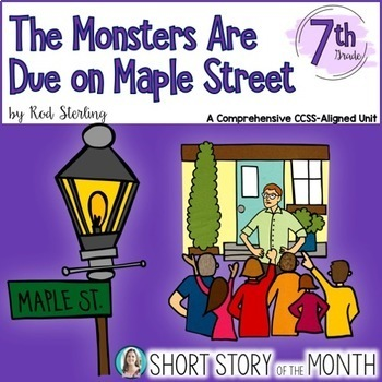 the monsters are due on maple street theme